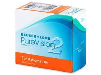 Měsíční kontaktní čočky - PureVision 2 for Astigmatism