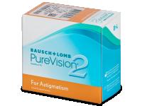 Torické (astigmatické) kontaktní čočky - PureVision 2 for Astigmatism