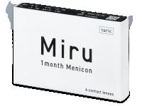 Torické (astigmatické) kontaktní čočky - Miru 1 Month Menicon for Astigmatism