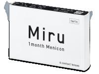 Měsíční kontaktní čočky - Miru 1 Month Menicon for Astigmatism