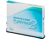 Měsíční kontaktní čočky - PureVision 2