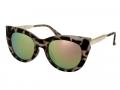 Sluneční brýle - Sunglasses Alensa Cat Eye Havana Pink Mirror