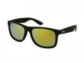 Sluneční brýle - Sunglasses Alensa Sport Black Gold Mirror