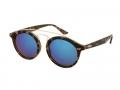 Sluneční brýle - Kids sunglasses Alensa Panto Havana Blue Mirror
