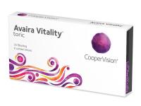 Měsíční kontaktní čočky - Avaira Vitality Toric