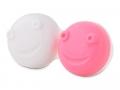 Pouzdra na kontaktní čočky se zrcátkem - Náhradní pouzdro do vibrační kazetky - růžové