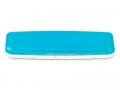 Pouzdra na kontaktní čočky se zrcátkem - Pevné pouzdro na jednodenní čočky - modré