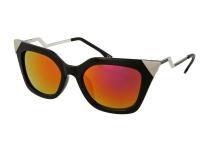 Sluneční brýle - Sunglasses Alensa Cat Eye Shiny Black Mirror