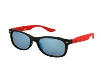 Sluneční brýle - Kids sunglasses Alensa Sport Black Red Mirror