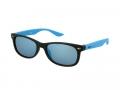 Sluneční brýle - Kids sunglasses Alensa Sport Black Blue Mirror