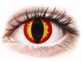 Barevné kontaktní čočky MaxVue Vision - ColourVUE Crazy Lens - Dragon Eyes - nedioptrické