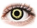 Barevné kontaktní čočky MaxVue Vision - ColourVUE Crazy Lens - Eclipse - nedioptrické