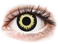 Crazy barevné kontaktní čočky - ColourVUE Crazy Lens - Eclipse - nedioptrické