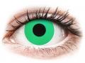 Barevné kontaktní čočky MaxVue Vision - ColourVUE Crazy Lens - Emerald (Green) - nedioptrické