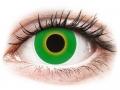 Barevné kontaktní čočky MaxVue Vision - ColourVUE Crazy Lens - Hulk Green - nedioptrické