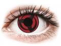 Barevné kontaktní čočky MaxVue Vision - ColourVUE Crazy Lens - Kakashi - nedioptrické