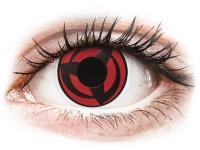 Crazy barevné kontaktní čočky - ColourVUE Crazy Lens - Kakashi - nedioptrické