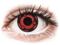 Crazy barevné kontaktní čočky - ColourVUE Crazy Lens - Madara - nedioptrické