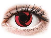 Crazy barevné kontaktní čočky - ColourVUE Crazy Lens - Mangekyu - nedioptrické