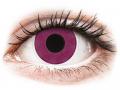 Barevné kontaktní čočky MaxVue Vision - ColourVUE Crazy Lens - Purple - nedioptrické
