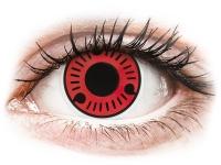 Crazy barevné kontaktní čočky - ColourVUE Crazy Lens - Sasuke - nedioptrické