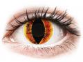Barevné kontaktní čočky MaxVue Vision - ColourVUE Crazy Lens - Saurons Eye - nedioptrické