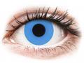 Barevné kontaktní čočky MaxVue Vision - ColourVUE Crazy Lens - Sky Blue - nedioptrické