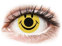 Crazy barevné kontaktní čočky - ColourVUE Crazy Lens - Smiley - nedioptrické