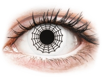 Crazy barevné kontaktní čočky - ColourVUE Crazy Lens - Spider - nedioptrické