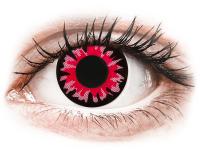 Crazy barevné kontaktní čočky - ColourVUE Crazy Lens - Volturi - nedioptrické