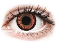Crazy barevné kontaktní čočky - ColourVUE Crazy Lens - Vampire - nedioptrické