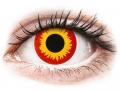 Barevné kontaktní čočky MaxVue Vision - ColourVUE Crazy Lens - Wildfire - nedioptrické