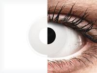 ColourVUE Crazy Lens - WhiteOut - nedioptrické (2čočky)
