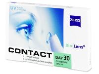 Měsíční kontaktní čočky - Carl Zeiss Contact Day 30 Compatic