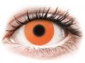 Barevné kontaktní čočky MaxVue Vision - ColourVUE Crazy Glow Orange - nedioptrické