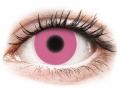 Barevné kontaktní čočky MaxVue Vision - ColourVUE Crazy Glow Pink - nedioptrické
