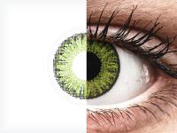 TopVue Color - Fresh Green - nedioptrické jednodenní (10čoček)