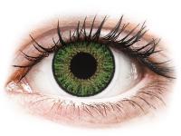 Kontaktní čočky TopVue - TopVue Color - Green - dioptrické jednodenní