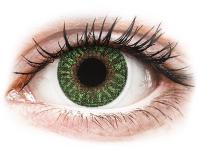 Kontaktní čočky TopVue - TopVue Color - Green - nedioptrické