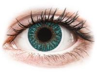 Kontaktní čočky TopVue - TopVue Color - Turquoise - nedioptrické