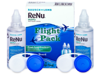 Kontaktní čočky Bausch and Lomb - Roztok ReNu MultiPlus Flight Pack 2x60 ml