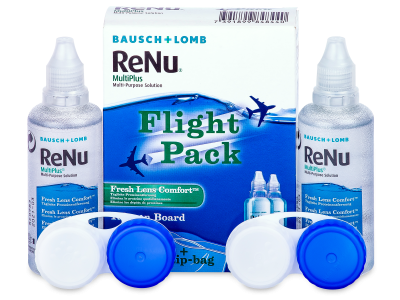 Roztok ReNu MultiPlus Flight Pack 2x60 ml