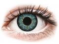 Barevné kontaktní čočky MaxVue Vision - ColourVUE Glamour Aqua - dioptrické