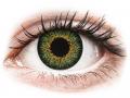 Barevné kontaktní čočky MaxVue Vision - ColourVUE Glamour Green - dioptrické