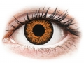 Barevné kontaktní čočky MaxVue Vision - ColourVUE Glamour Honey - dioptrické