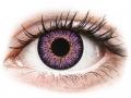 Barevné kontaktní čočky MaxVue Vision - ColourVUE Glamour Violet - nedioptrické