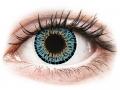 Barevné kontaktní čočky MaxVue Vision - ColourVUE Elegance Aqua - nedioptrické