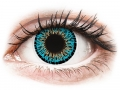 Barevné kontaktní čočky MaxVue Vision - ColourVUE Elegance Blue - nedioptrické