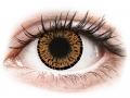 Barevné kontaktní čočky MaxVue Vision - ColourVUE Elegance Brown - nedioptrické
