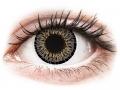 Barevné kontaktní čočky MaxVue Vision - ColourVUE Elegance Grey - nedioptrické
